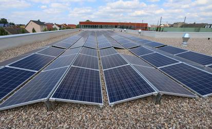Photovoltaikanlage auf der Neuen Feuerwache Luckenwalde